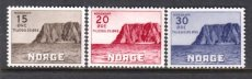 NORWAY 1943 SHIP TOURISM NORTH CAPE (NK 311-313)