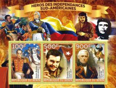BENIN 2020 Heroes of South America I