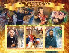 BE02 BENIN 2020 Heroes of South America II