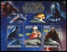 BURKINA FASO 2019 Space Star Wars