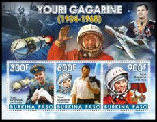 BURKINA FASO 2019 Space Gagarin