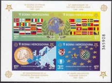 BOSNIA 2005 Europa CEPT IMPERFORATED