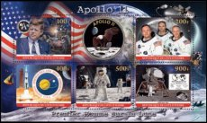 IVORY COAST 2020 Space Apollo 11 Kennedy