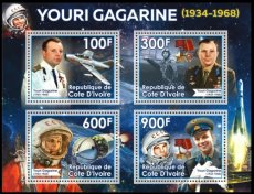 IVORY COAST 2020 Space Gagarin