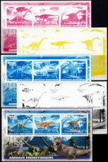 MADAGASCAR 2019 Dinosaurs PROOF SET