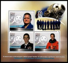 MG1864 MADAGASCAR 2018 Space NASA Astronauts