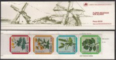 PORTUGAL AZORES 1981 Flowers Booklet